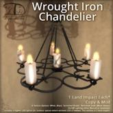 [DDD] Wrought Iron Chandelier