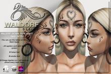 Waldorf Design. Pure Heart Face Tattoo -BENTO-