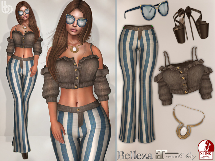 Bens Boutique - Tanya Outfit Maitreya,Slink(all),Belleza(all)