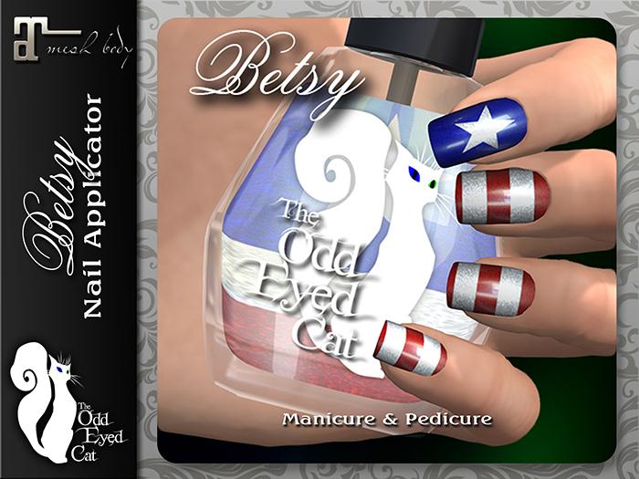 >^OeC^< Betsy - Maitreya Nail Polish Applier