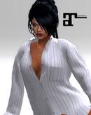 XK Maitreya The Boyfriend Shirt Business Blue