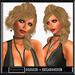 "Woman hair "" Mandy ""  blonde girl hair / ponytail / Zopf / capelli / blond"