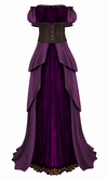 The Annex - Her Ladyship Gown - Purple
