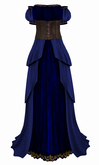 The Annex - Her Ladyship Gown - Blue