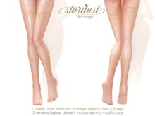 Stardust - Lunette - Gold Tattoo (WEAR ME)