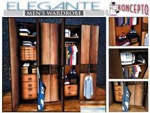 Elegante Men's Wardrobe ~ Closet ~ Koncepto