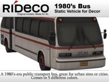 RiDECO - 1980's Bus