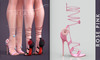 [BREATHE]-Belle Heels-Rose Pink-(for Slink High Feet & Maitreya Lara & Belleza)