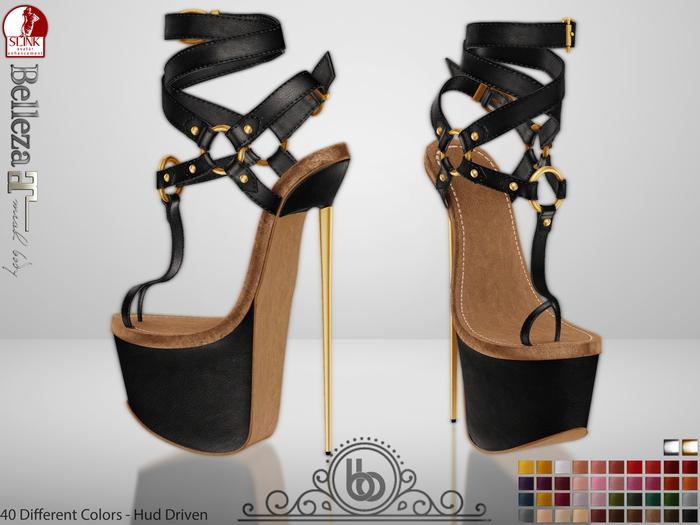 Bens Boutique - Serenity High Heels - Hud Driven Maitreya,Slink(all),Belleza(all)