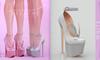 [BREATHE]-Bunny Heels-White-(for Slink High Feet & Maitreya Lara & Belleza)