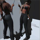 Yasum*Maitreya*Zipper Skins*Black