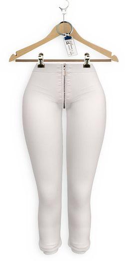 Yasum*Maitreya*Zipper Skins*White