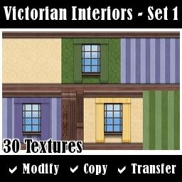 Victorian Interior Textures - Set 1