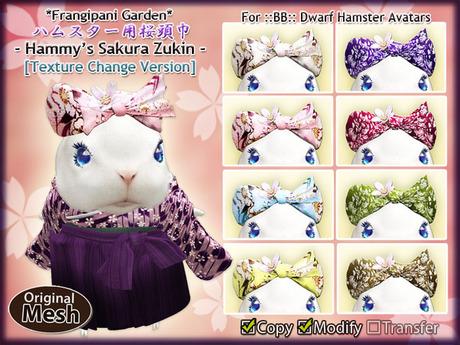 *FG* Hammy's Sakura Zukin [Texture Change]