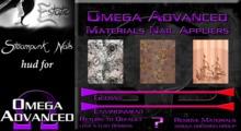 ~E~ Steampunk Nails - Omega HUD