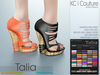 -KC- TALIA WEDGES / MAITREYA, BELLEZA, SLINK, EVE, MESHPROJECT