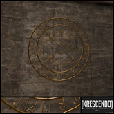 [Kres] Kattegat Compass (Gold)