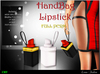 -Lamu Fashion-Mesh Handbag *Lipstick* FULL PERM