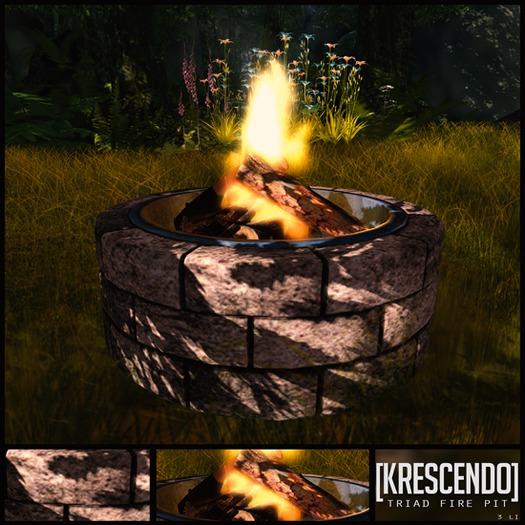 [Kres] Triad Fire Pit