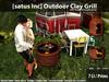 [satus Inc] Outdoor Clay Grill