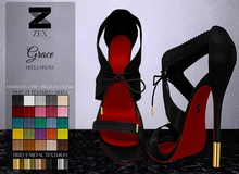 Grace Heels shoes - Maitreya / Belleza / TMP / SLink