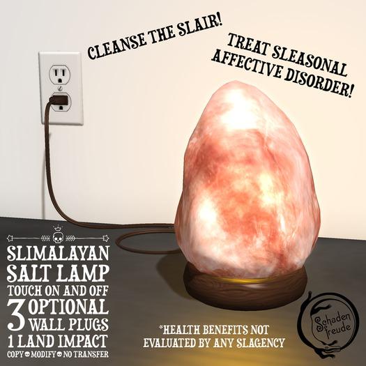 Schadenfreude SLimalayan Salt Lamp