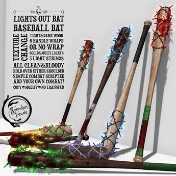 Schadenfreude Lights Out Bat
