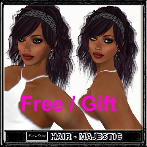 "FREE GIFT Woman hair "" Sabina "" majestic FREE freebie PROMO kostenlos girl hair  female hair cheveux gratuit gratis gift"