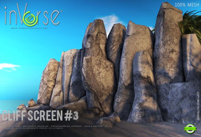 inVerse® MESH -  Cliff screen #3