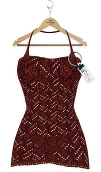 Yasum**ADD ME*Crochet Dress&Lingery*Berry