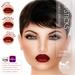 Oceane - Sultry Lipsticks 3 styles - Brown [Omega]