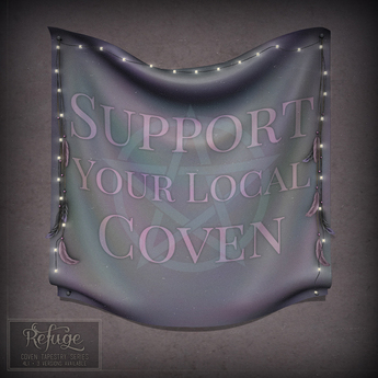 Refuge - Support Your Coven Tapestry