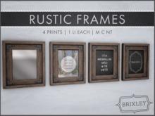 [Brixley] Rustic Frames