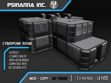 PsiNanna, Inc. Cyberpunk Room Modular Kit