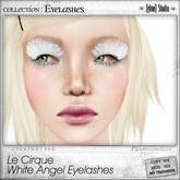 [ glow ] studio - Le Cirque - White Angel Eyelashes