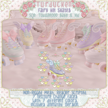 Turducken ToddleeDoo - Fairy Kei Skates {Box}