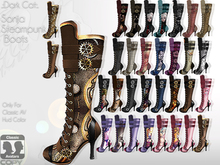 *.:Dark Cat:.*SS-Sonja Steampunk Boots