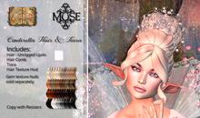 [MUSE] Cinderella Hair Updo - Naturals Loaded pkg Hud