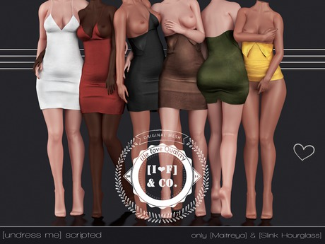 [I<3F] Dress [13] [undress me] - Normal