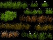 Grass Patch Pack - Season Change