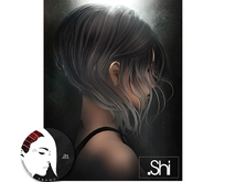 .Shi Hair : Discorded / Unisex . Red