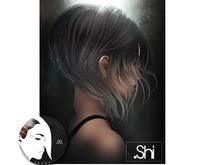 .Shi Hair : Discorded / Unisex . Dips
