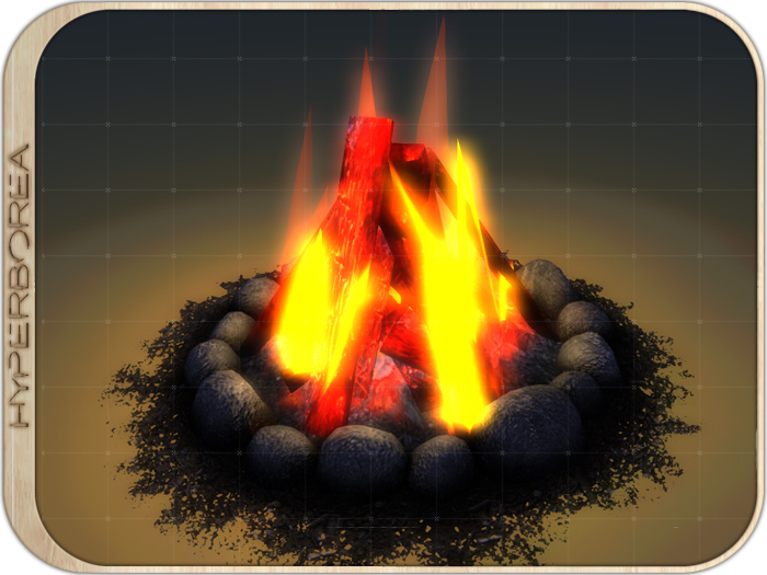 [H] Interactive Fireplace (Style 2)