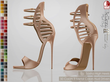 Bens Boutique - Sasha High Heels - Hud Driven Maitreya,Slink(all),Belleza(all)