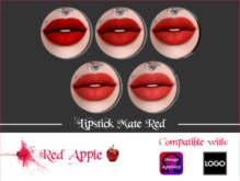 Red Apple  - Omega/LOGO Mate Red Lipstick