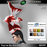 AB Hat - You're So Koi with color HUD