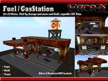 [C a r o X] Fuel / Gas Station / Garage / Urban - Grunge - Neko Style - BOX Copy Mody