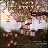 [DDD] Low Poly Lantern Set