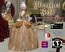 Glorious Gold Baroque Gown - 1770's for Classic and Mesh Avatars