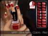 - MPP - Slink Finger & Toe Nails HUD - Colors Red
